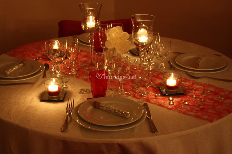 Mise en lumière de la table
