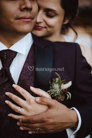 Mariage intime Bourgogne