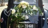 Décoration mariage voiture