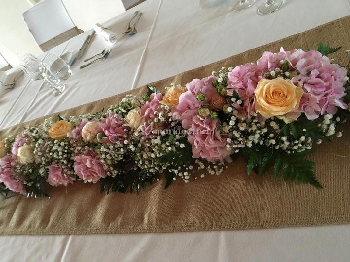 Déco table d'honneur