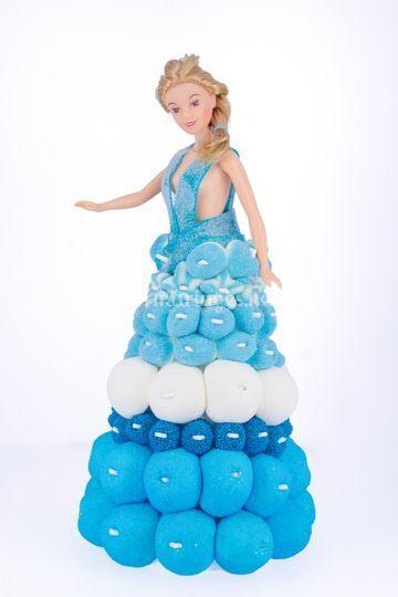 Poupée robe de princesse
