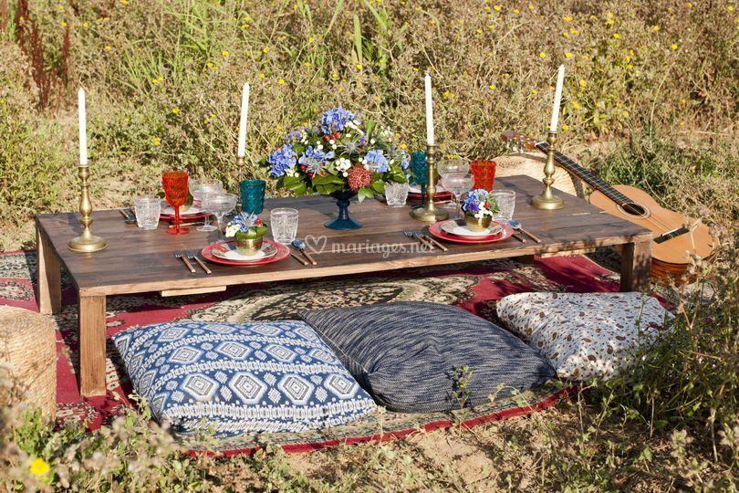 Table bohême