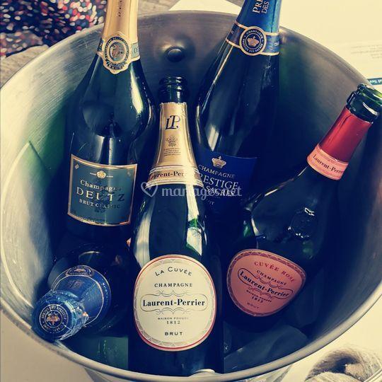 La vasque de Champagne