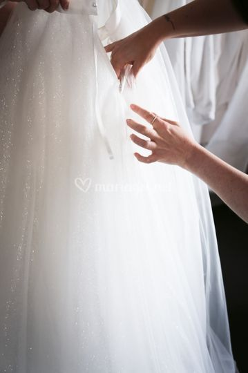 Préparatif mariée