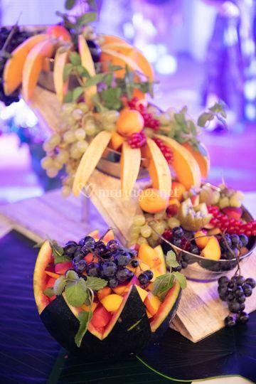 Cascade de fruit
