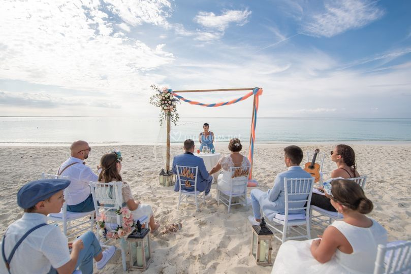 Wedding in Turks and Caïcos