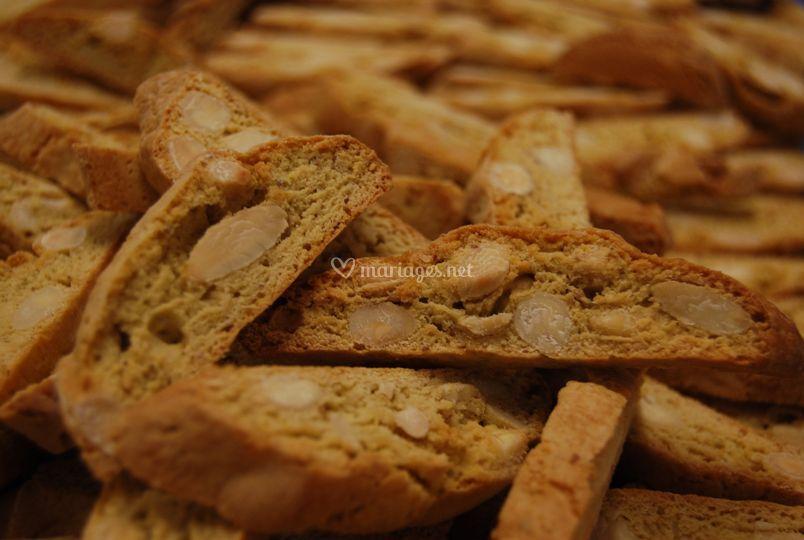 Cascade de biscuit