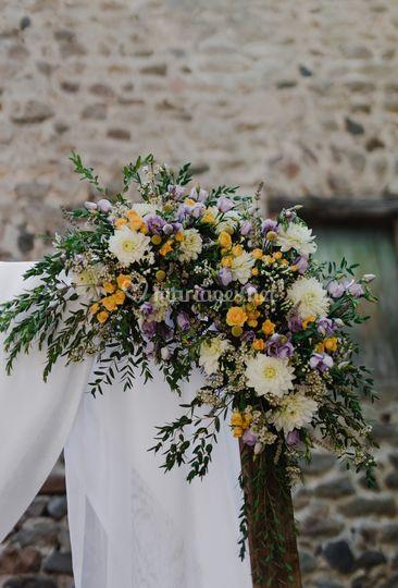 Fleurissement cérémonie laïque
