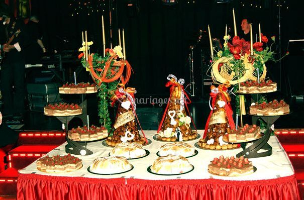 Buffet de gâteaux
