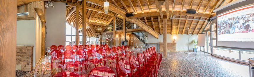 Réception mariage-le grenier