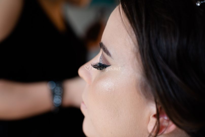 Make up mariée jour J