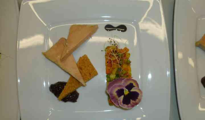 Foie gras, saveur orientale
