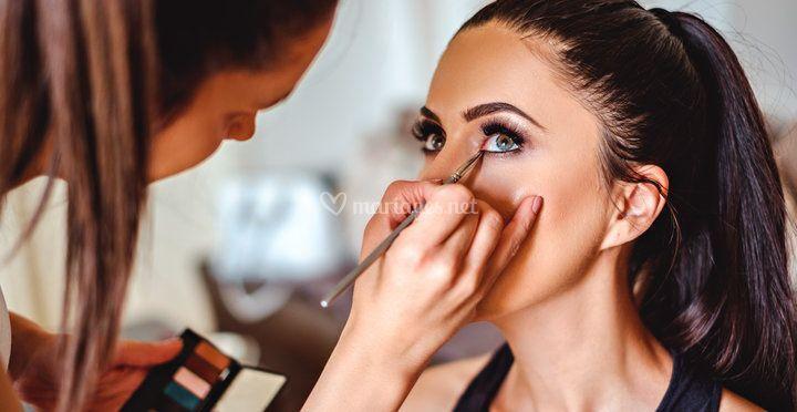 Anna Vetillart Wedding Make Up