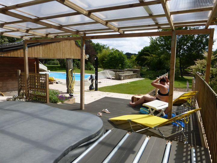 Espace relaxation spa de domaine paysager de kertanguy for Espace de relaxation