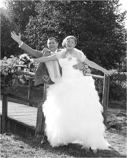 Mariés euphoriques
