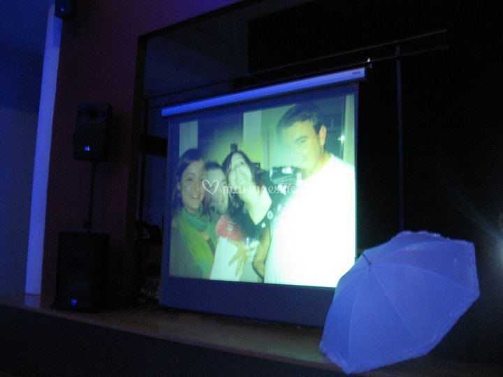 Video projection lor'anim