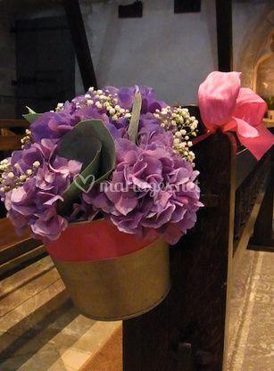 Bouquet pour l'église