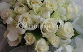 Bouquet de mariée blanc sur Coclico