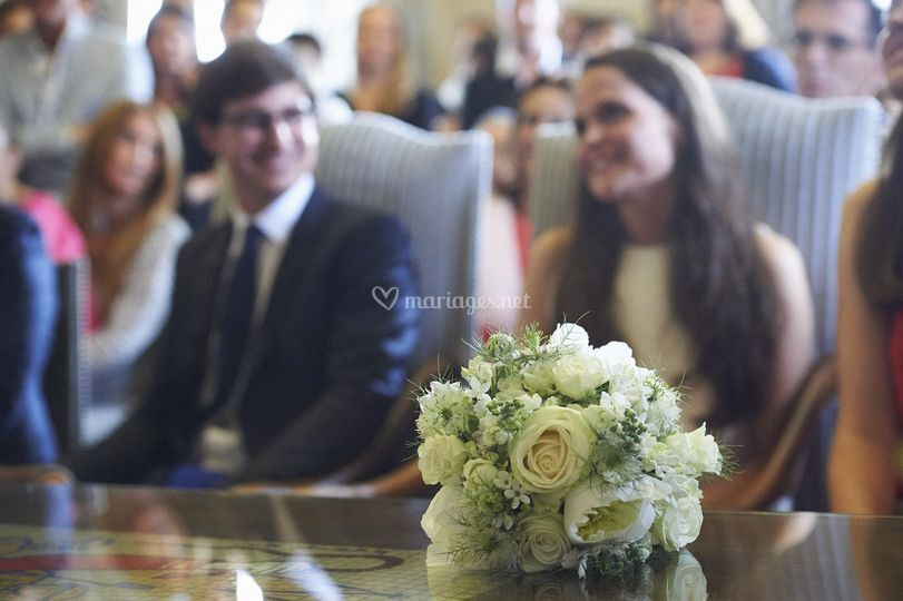 Bouquet mariage civil