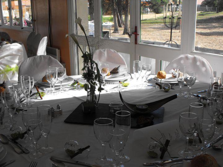 Table de réception