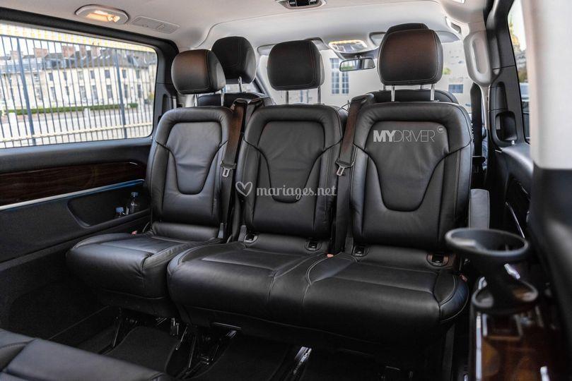 Mercedes Classe V Intérieur