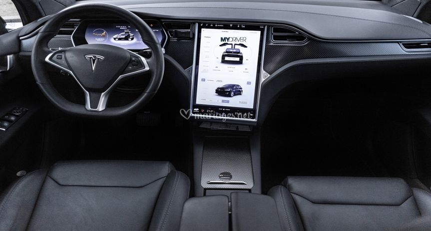 Tesla X interieur