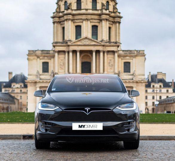 Tesla X face
