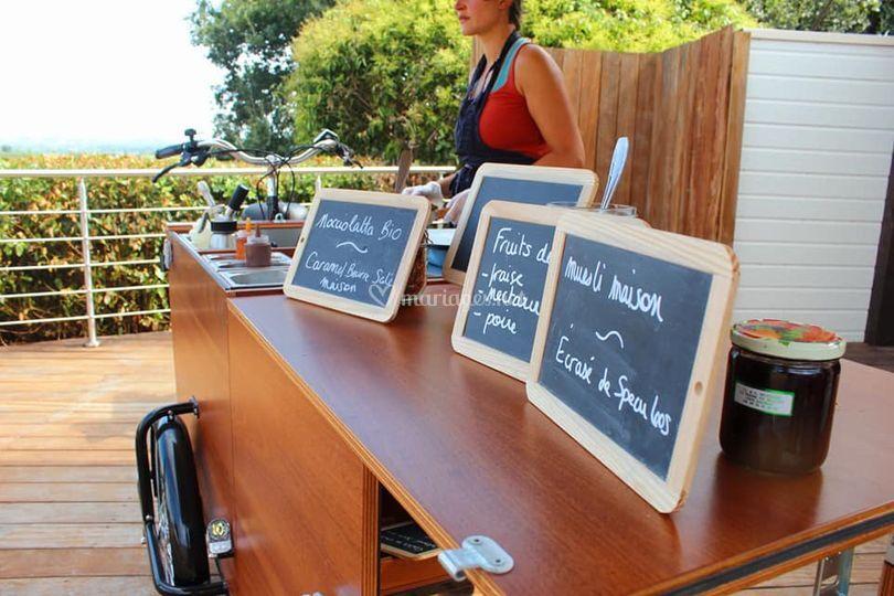 Food Bike La Green Cantine