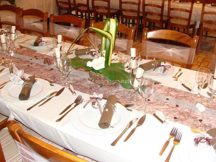 Décoration de table 2012