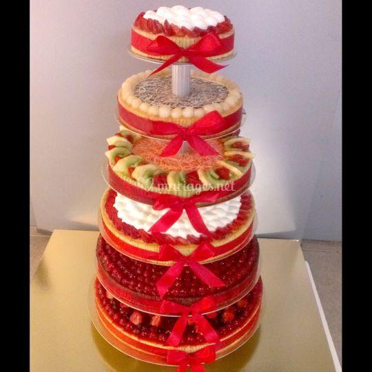 Gâteau à étages classique
