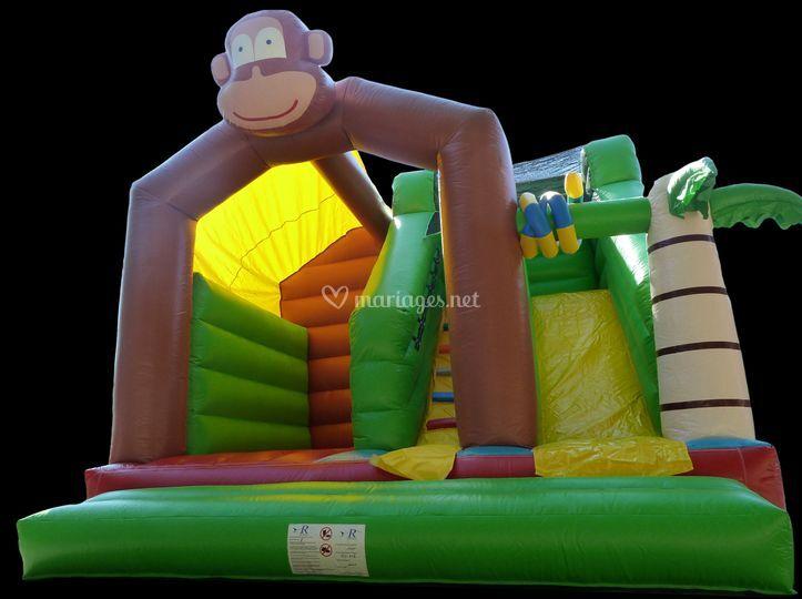 Le toboggan King Kong