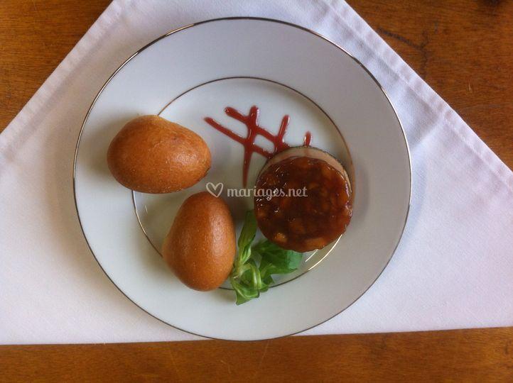 Atin de foie gras