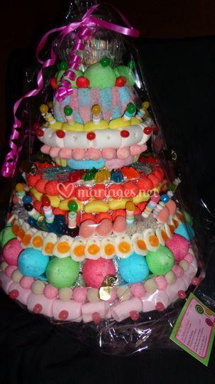 Gros gâteau