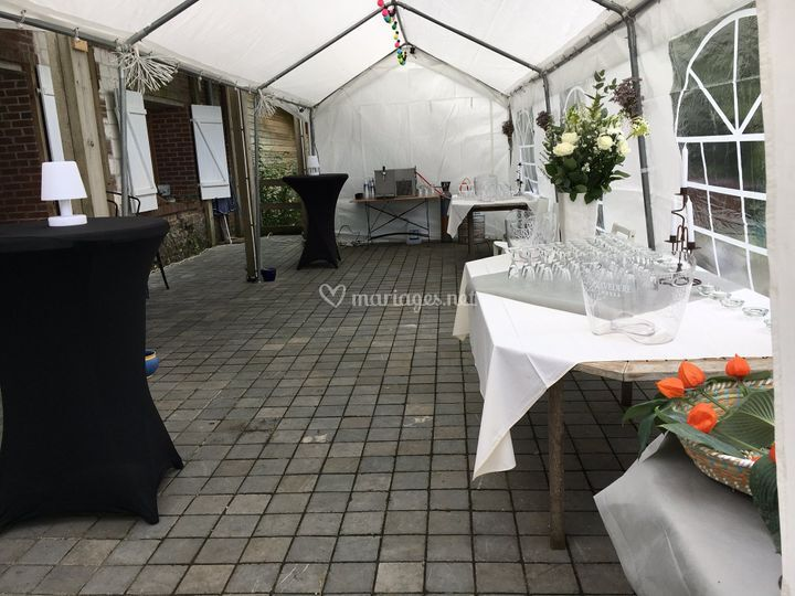 Tente sur terrasse 100 m²