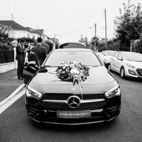 CLA coupé Mariage