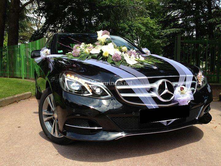 Mercedes Benz mariage