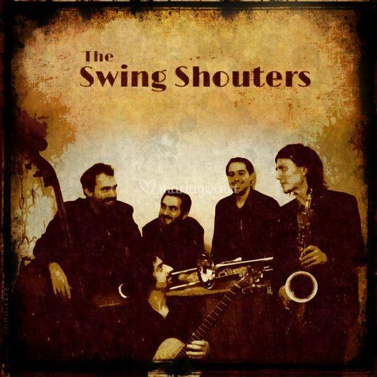 Pochette ep sur the swing shouters
