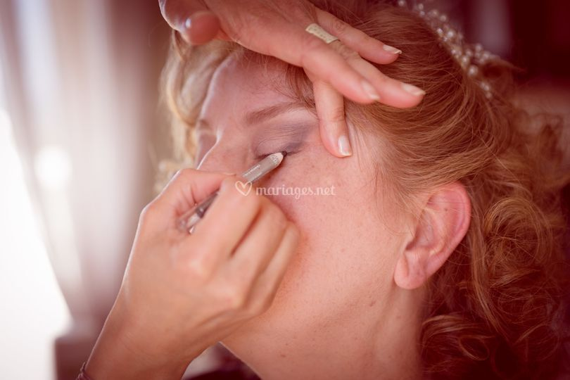 Maquillage naturel, printanier