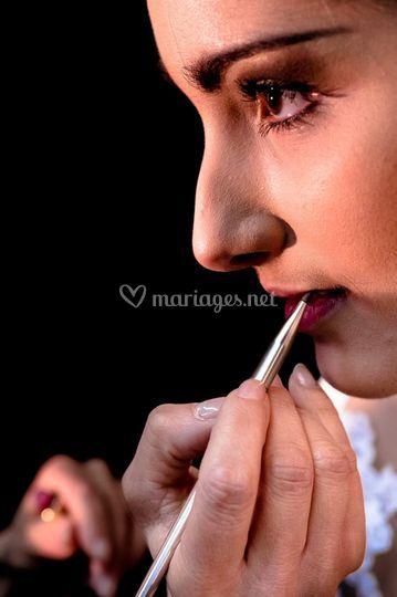 Sublimer les lèvres au crayon