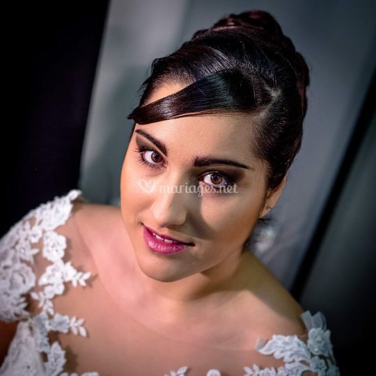 Maquillage salon du mariage