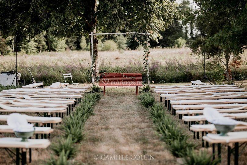 Une cérémonie laïque