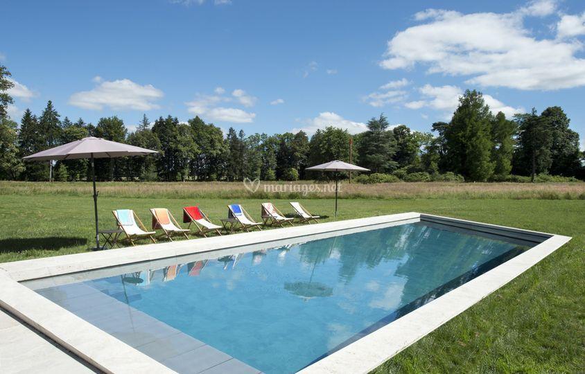 La piscine de 20 m de long ©JD