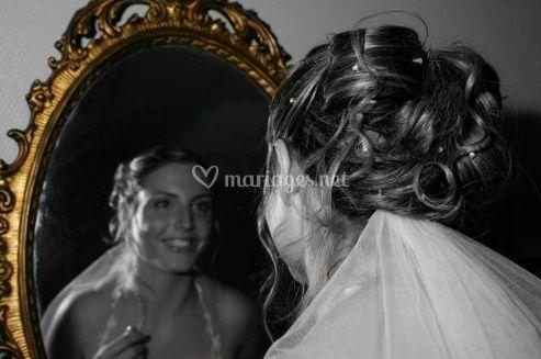 Portrait effet miroir