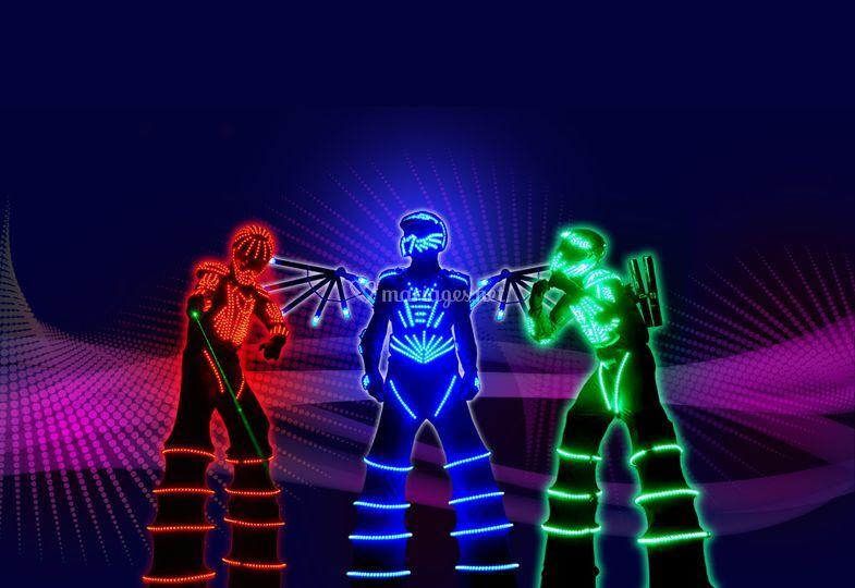 Animation de lumière