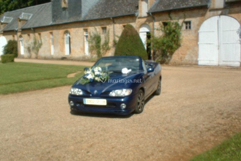 Décoration de voiture pour le mariage