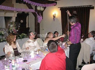 Spectacle de magie pour les mariés