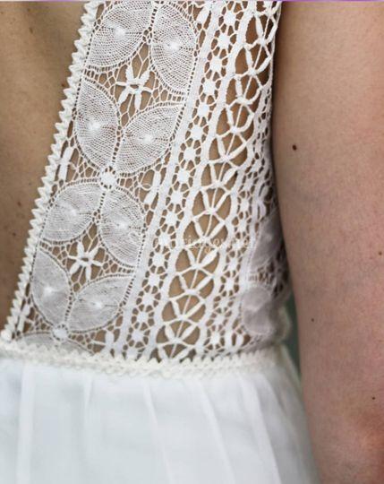Robe de mariée graphique