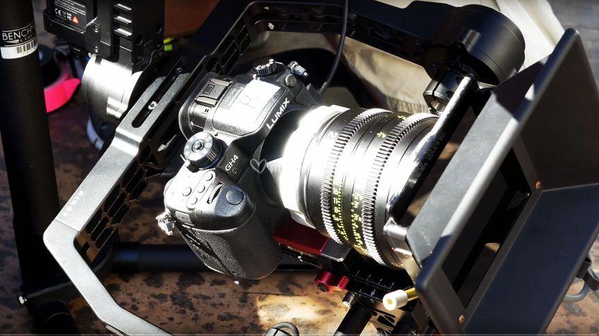 Matériel de tournage cinéma