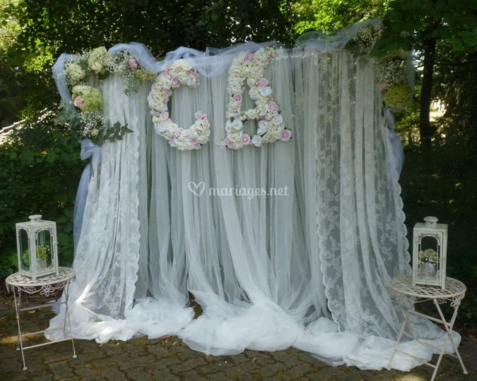 Mariage sur la terrasse