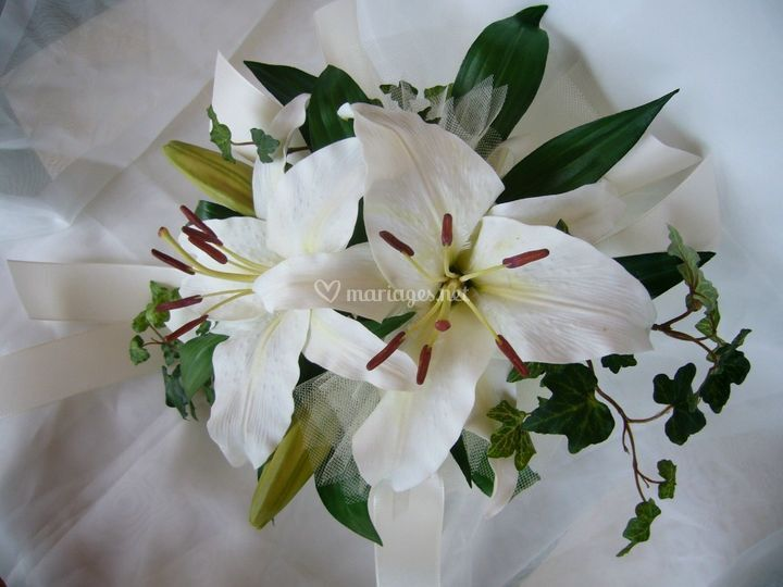 Bouquet de lys royal